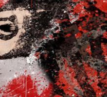 Harley Quinn VS Dead Pool Sticker
