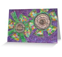King Flower and Queen Flower  Greeting Card