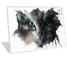 Cat Splash Laptop Skin