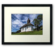 A Wayside Chapel Framed Print