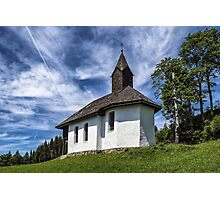 A Wayside Chapel Photographic Print
