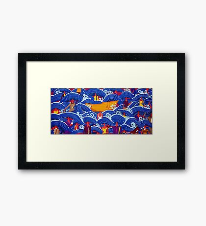 The beauty of being different Framed Print