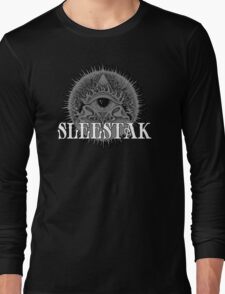 Sleestak - Illuminati Logo Long Sleeve T-Shirt