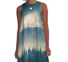 Follow the light A-Line Dress