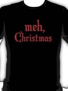 Meh, Christmas T-Shirt