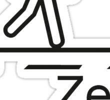 Vision Zero Sticker