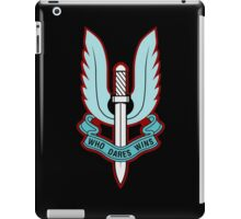 Special Air Service (Blue - No Background)  iPad Case/Skin