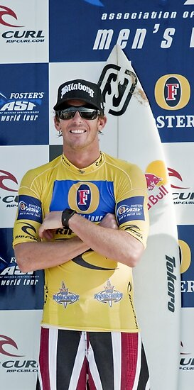 Andy Irons At Rip Curl Pro Pipe Masters 06 by Alex Preiss