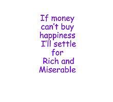 money /happiness Photographic Print