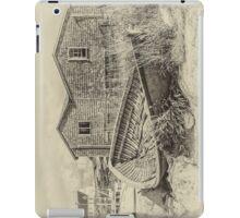 Peggy's Cove - sepia iPad Case/Skin