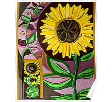 Sunflower Cycles Poster