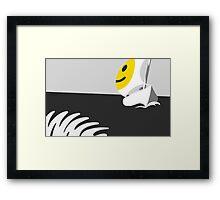 Captain Smiley Framed Print