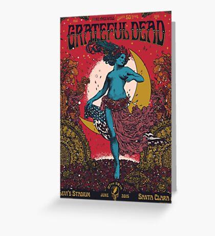 Grateful Dead - Fare Thee Well  - at Santa Clara (Levis Stadium) Greeting Card