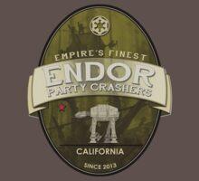 Endor Party Crashers EPiC - Back Logo by derekfett