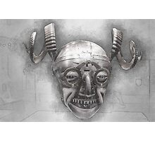 Henry VIII's horned helmet Photographic Print