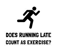 Running Late Exercise by AmazingMart