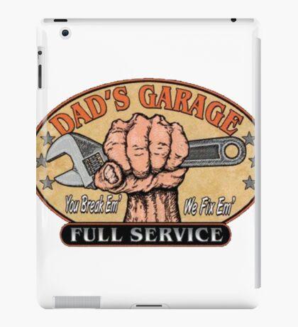 Dad's garage iPad Case/Skin