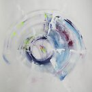 To Fly Away L. KRAVITZ , Abstract Original painting ART by Dmitri Matkovsky