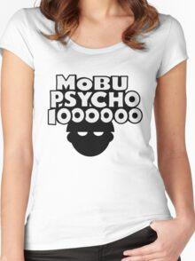 Mobu Psycho 1000000 Women's Fitted Scoop T-Shirt