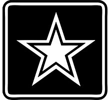 ARMY STAR Photographic Print