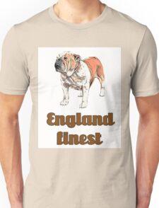 dog english bulldog pets animal england urban Unisex T-Shirt