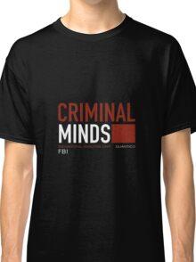 Criminal Minds Logo Classic T-Shirt
