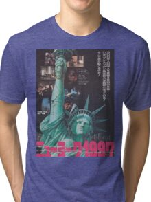 Escape From New York Japan Poster Tri-blend T-Shirt