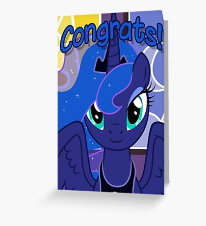Princess Luna Greeting Card - Postcard My Little Pony Greeting Card