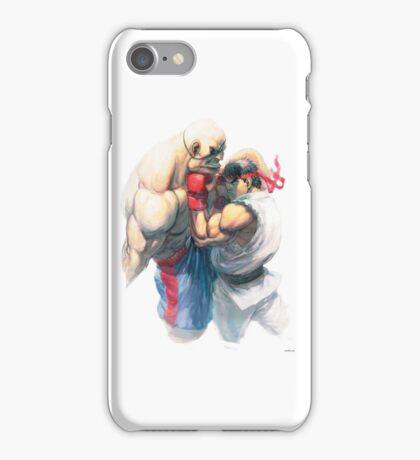 Street Fighter #1 - Sagat vs Ryu iPhone Case/Skin