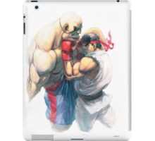 Street Fighter #1 - Sagat vs Ryu iPad Case/Skin