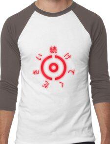 Pokémon Inspired Japanese Design Men's Baseball ¾ T-Shirt