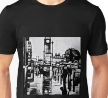 City in the rain Unisex T-Shirt