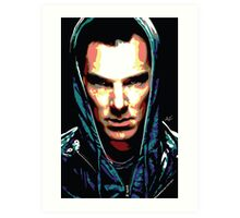 Benedict Cumberbatch: You Think Your World is Safe? Art Print