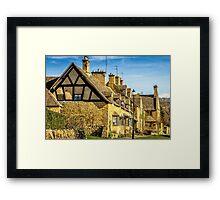 Cotswolds - Broadway Village Framed Print