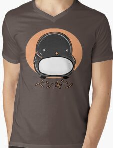 Penguin by Indigo Mens V-Neck T-Shirt