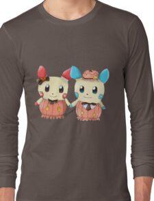 Halloween Plusle And Minun Long Sleeve T-Shirt