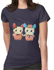 Halloween Plusle And Minun Womens Fitted T-Shirt