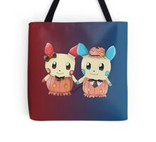 Halloween Plusle And Minun Tote Bag