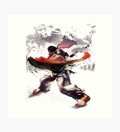 Street Fighter #2 - Ryu Art Print