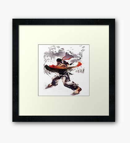 Street Fighter #2 - Ryu Framed Print