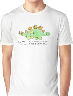 Firefly Wash's stegosaurus quote. Graphic T-Shirt
