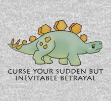 Firefly Wash's stegosaurus quote. One Piece - Long Sleeve