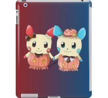 Halloween Plusle And Minun iPad Case/Skin