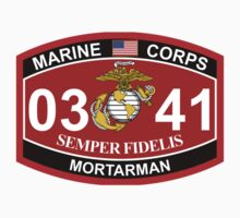MOS 0341 - Infantryman -  Mortarman by VeteranGraphics