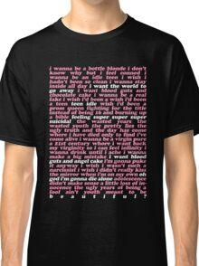TEEN IDLE LYRICS Classic T-Shirt