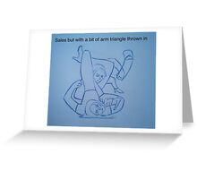 BJJ women sales with caption Greeting Card