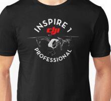 DJI Inspire 1 pro professional Drone pilot Unisex T-Shirt