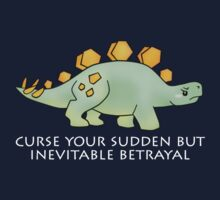Firefly Wash's stegosaurus quote. (darker backgrounds) One Piece - Short Sleeve