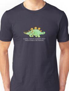 Firefly Wash's stegosaurus quote. (darker backgrounds) Unisex T-Shirt