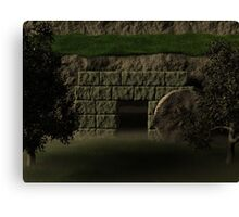 The Garden Tomb Canvas Print